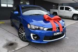 2017 Mitsubishi Lancer CF MY17 GSR Sportback Blue 6 Speed Constant Variable Hatchback Pennant Hills Hornsby Area Preview