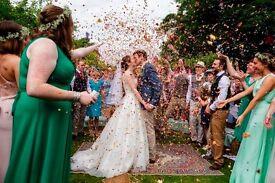 Classically beautiful and fun to wear wedding dress