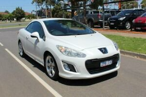 2012 Peugeot 308 11 Upgrade CC Allure Turbo White 6 Speed Automatic Cabriolet Hoppers Crossing Wyndham Area Preview