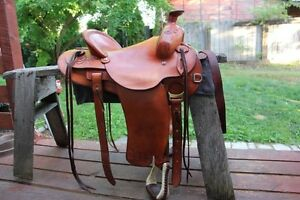 Handmade / Tooled Saddle