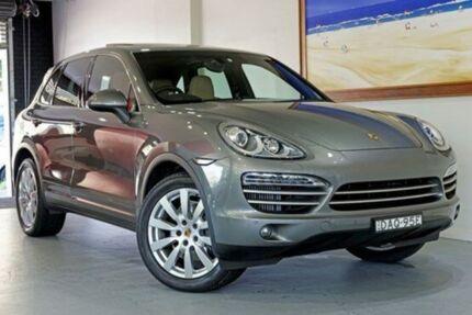 2014 Porsche Cayenne  Grey Auto Seq Sportshift Wagon Artarmon Willoughby Area Preview