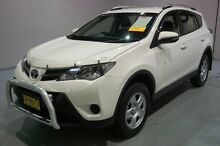 2015 Toyota RAV4 ZSA42R MY14 GX 2WD White 6 Speed Manual Wagon Old Guildford Fairfield Area Preview