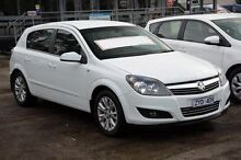 2009 Holden Astra AH MY09 CDTi White 6 Speed Sports Automatic Hatchback Croydon Maroondah Area Preview
