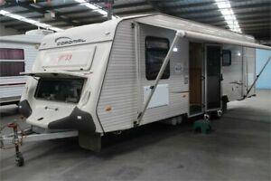 2008 Coromal Princeton 754 Caravan Kilburn Port Adelaide Area Preview
