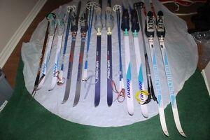 Classic XC SKIS cross country ski set with Salomon SNS bindings