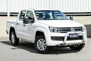 2016 Volkswagen Amarok 2H MY16 TDI400 4Mot White Manual Utility Cannington Canning Area Preview
