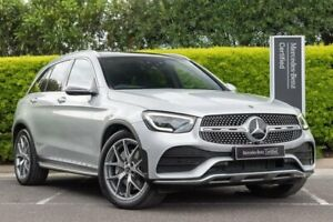 2019 Mercedes-Benz GLC-Class X253 800MY GLC300 9G-Tronic 4MATIC Silver 9 Speed Sports Automatic