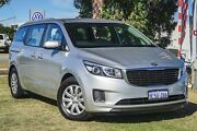 2015 Kia Carnival YP MY15 S Silver 6 Speed Sports Automatic Wagon Wangara Wanneroo Area Preview