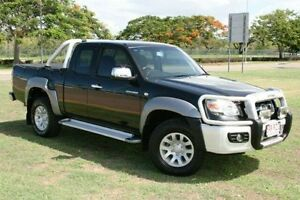 2008 Mazda BT-50 B3000 SDX Freestyle Black 5 Speed Manual Utility Townsville Townsville City Preview