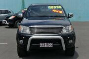 2005 Toyota Hilux GGN25R MY05 SR5 Black 5 Speed Automatic Utility Southport Gold Coast City Preview