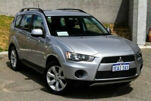 2012 Mitsubishi Outlander ZH MY12 LS Silver 6 Speed Constant Variable Wagon Myaree Melville Area Preview
