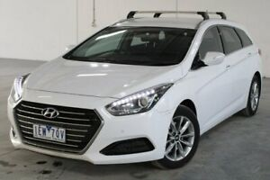 2015 Hyundai i40 White Sports Automatic Dual Clutch Wagon Hoppers Crossing Wyndham Area Preview