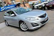 2011 Mazda 6 GH MY11 Diesel Silver 6 Speed Manual Wagon Hamilton Newcastle Area Preview