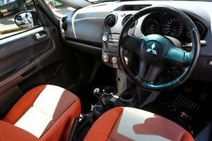 2007 Mitsubishi Colt RZ MY07 Black 5 Speed Manual Cabriolet Minchinbury Blacktown Area Preview