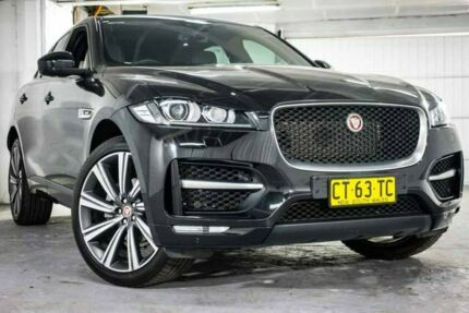 2016 Jaguar F-PACE X761 MY17 20d AWD R-Sport Black 8 Speed Sports Automatic Wagon Ryde Ryde Area Preview