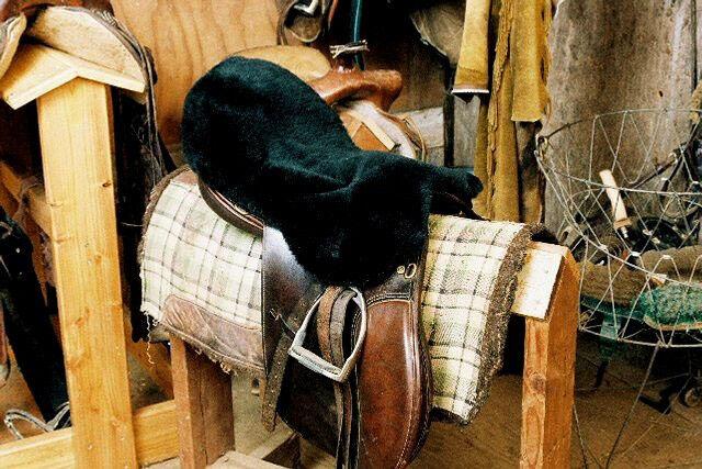 All Purpose/Dressage/English Sheepskin Saddle Covers - Black