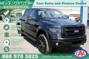 2013 Ford F-150 FX4 - Accident Free! w/4x4, Nav, Leather
