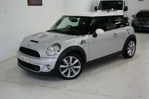 2012 Mini Hatch R56 LCI Cooper S Steptronic Silver 6 Speed Sports Automatic Hatchback Castle Hill The Hills District Preview