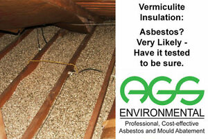 AGS Environmental Professional, Cost-Effective Asbestos Removal Kitchener / Waterloo Kitchener Area image 4