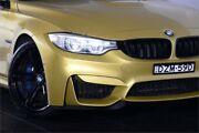 2016 BMW M3 F80 LCI Austin Yellow 7 Speed Sports Automatic Dual Clutch Sedan Artarmon Willoughby Area Preview