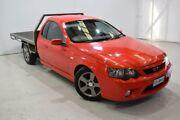 2006 Ford Falcon BF XR6 Ute Super Cab Red 4 Speed Sports Automatic Utility Launceston Launceston Area Preview