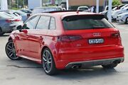 2015 Audi S3 8V MY15 Sportback S tronic quattro Red 6 Speed Sports Automatic Dual Clutch Hatchback Gosford Gosford Area Preview