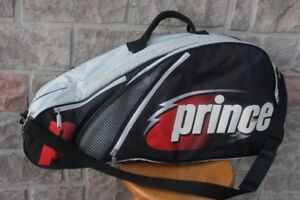 Prince multi racquet racket tennis / squash bag  case with zippe