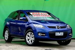 2009 Mazda CX-7 ER1031 MY07 Classic Blue 6 Speed Sports Automatic Wagon Ringwood East Maroondah Area Preview