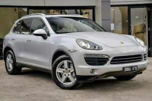 2010 Porsche Cayenne 9PA MY10 S Silver 6 Speed Sports Automatic Wagon Berwick Casey Area Preview