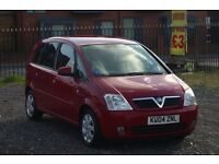 Vauxhall Meriva 1.6 (Cheap car with MOT)