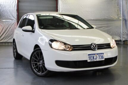 2012 Volkswagen Golf VI MY12.5 118TSI DSG Comfortline White 7 Speed Sports Automatic Dual Clutch Myaree Melville Area Preview