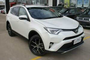 2016 Toyota RAV4 ZSA42R GXL 2WD White 7 Speed Constant Variable Wagon Hoppers Crossing Wyndham Area Preview