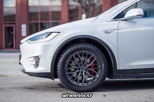 "Tesla Model S & Model X Winter TIRE + WHEEL Package 19"" - WHEELSCO"