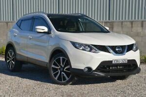 2016 Nissan Qashqai J11 TI White 1 Speed Constant Variable Wagon Wyong Wyong Area Preview