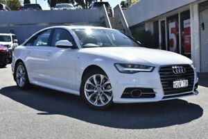 2015 Audi A6 4G MY15 S Line S Tronic Quattro White 7 Speed Sports Automatic Dual Clutch Sedan Nedlands Nedlands Area Preview