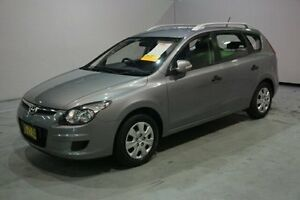 2011 Hyundai i30 FD MY11 SX cw Wagon Grey 4 Speed Automatic Wagon Old Guildford Fairfield Area Preview