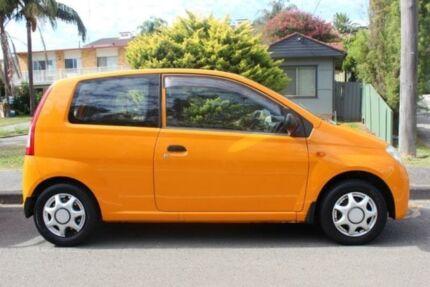 2004 Daihatsu Charade L251RS Orange Manual Hatchback