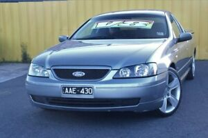 2003 Ford Falcon BA XLS Ute Super Cab Grey 4 Speed Sports Automatic Utility Cheltenham Kingston Area Preview