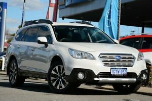 2015 Subaru Outback B6A MY15 2.5i CVT AWD Crystal White 6 Speed Constant Variable Wagon Melville Melville Area Preview