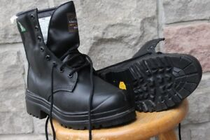 safety boots US Size 8 ½ 8.5 or UK 7 ½ STC leather men's steel t