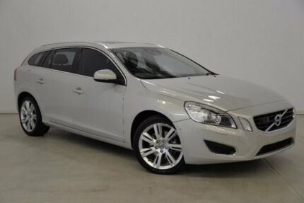 2011 Volvo V60 F Series T6 Geartronic AWD Silver 6 Speed Sports Automatic Wagon
