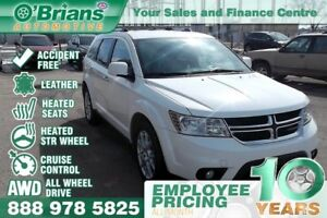 2015 Dodge Journey R/T - Accident Free w.Leather, AWD