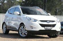 2012 Hyundai ix35 LM MY11 Highlander AWD White 6 Speed Sports Automatic Wagon Tuggerah Wyong Area Preview