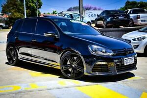 2012 Volkswagen Golf VI MY12.5 R DSG 4MOTION Black 6 Speed Sports Automatic Dual Clutch Hatchback Myaree Melville Area Preview