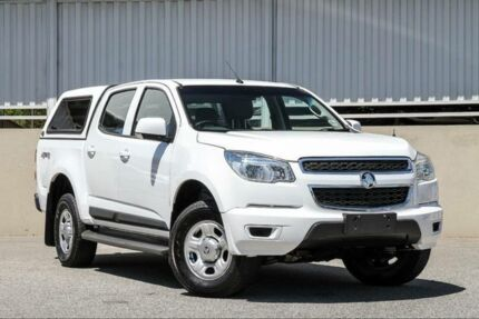2015 Holden Colorado RG MY16 LS (4x4) White 6 Speed Automatic Crew Cab Pickup Cannington Canning Area Preview