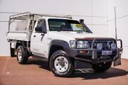 2011 Nissan Patrol GU 6 Series II ST White 5 Speed Manual Cab Chassis Maddington Gosnells Area Preview