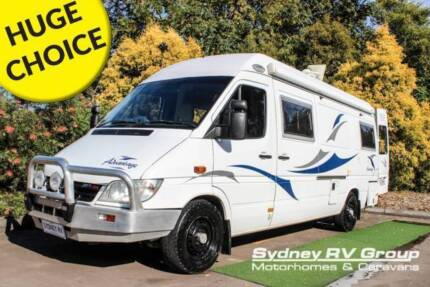 U3490 Mercedes Paradise Camper Turbo Diesel Auto Full Of Features Penrith Penrith Area Preview