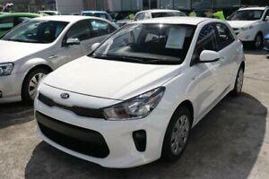 2018 Kia Rio YB MY18 S Clear White 4 Speed Sports Automatic Hatchback Mount Gravatt Brisbane South East Preview