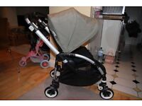 Bugaboo Bee Plus with khaki hood. Cocoon