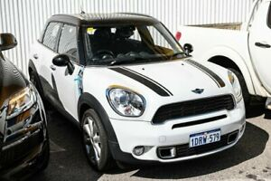 2011 Mini Countryman R60 Cooper S Black 6 Speed Sports Automatic Wagon Edgewater Joondalup Area Preview